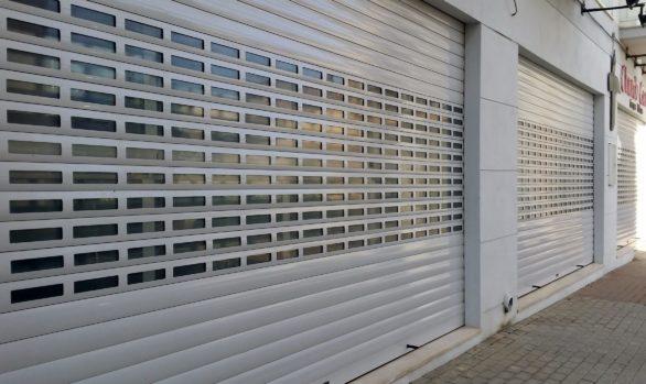 Puertas enrollables para negocios