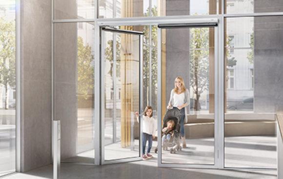 Sistema de apertura para puertas batientes